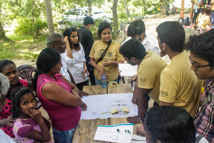 Manipal School of Architecture & Planning (MSAP) in 日e Inter-Cultural International Design Studio (iDiDe) at Srilanka